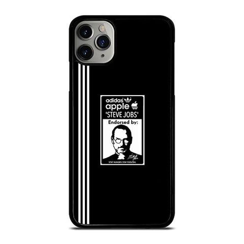 ADIDAS APPLE STEVE JOBS iPhone 11 Pro Max Case Cover