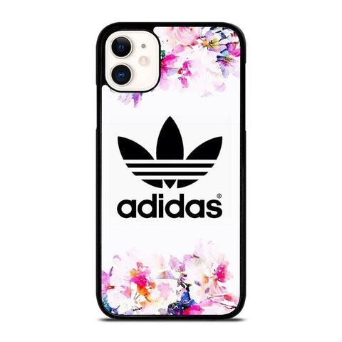 ADIDAS FLOWER ART-iphone-11-case-cover