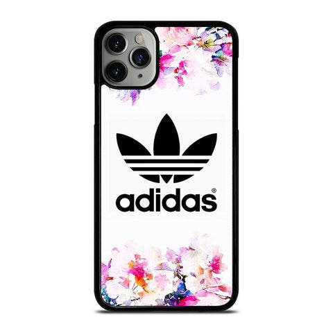 ADIDAS FLOWER ART-iphone-11-pro-max-case-cover