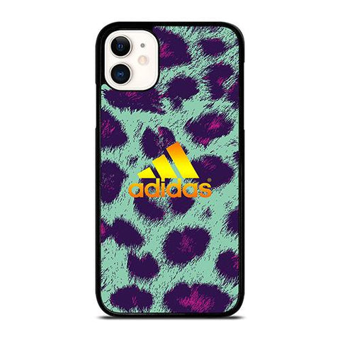 ADIDAS LEOPARD FUR iPhone 11 Case Cover