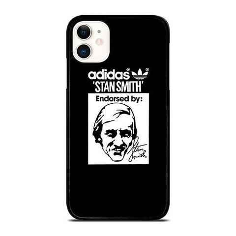 ADIDAS X STAN SMITH BLACK iPhone 11 Case Cover