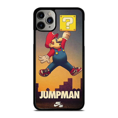 AIR JORDAN MARIO BROSS-iphone-11-pro-max-case-cover