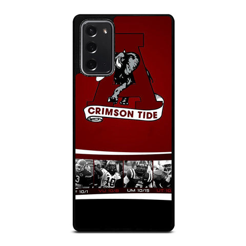 ALABAMA CRIMSON TIDE 3 Samsung Galaxy Note 20 Case Cover