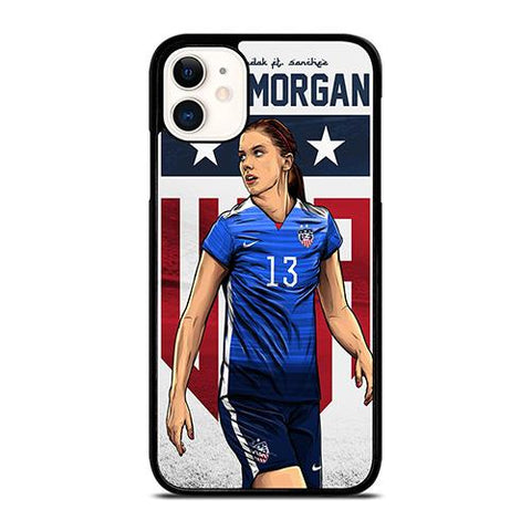 ALEX MORGAN USA SOCCER TEAM iPhone 11 Case Cover