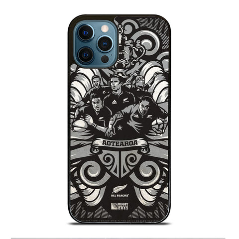 ALL BLACKS NEW ZEALAND RUGBY iPhone Case Cover
