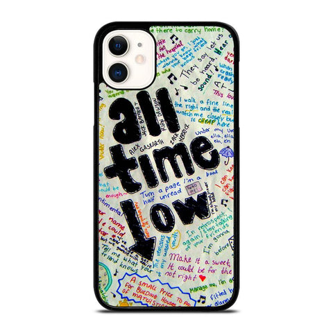 ALL TIME LOW COLOUR-iphone-11-case-cover