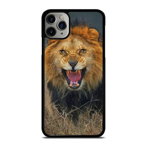 ANGRY MAD LION FACE-iphone-11-pro-max-case-cover