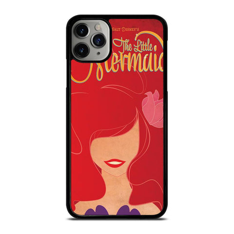 ARIEL THE LITTLE MERMAID DISNEY-iphone-11-pro-max-case-cover