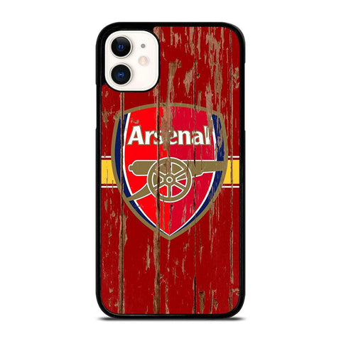 ARSENAL WOODEN LOGO-iphone-11-case-cover