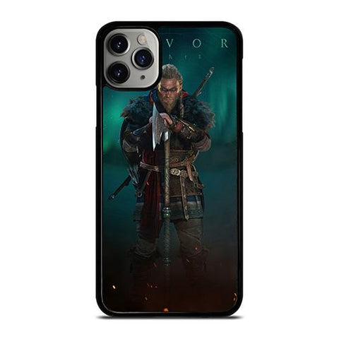 ASSASSIN'S CREED EIVOR GREEN iPhone 11 Pro Max Case Cover