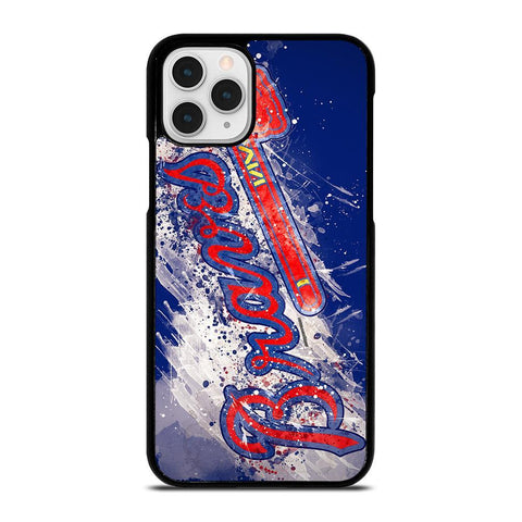 ATLANTA BRAVES ART LOGO-iphone-11-pro-case-cover