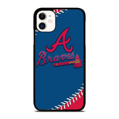ATLANTA BRAVES BASEBALL-iphone-11-case-cover