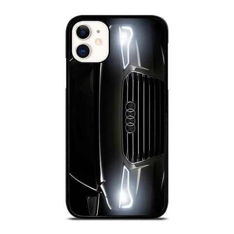 AUDI BLACK FRONT-iphone-11-case-cover