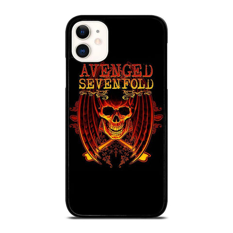 AVENGED SEVENFOLD A7X-iphone-11-case-cover