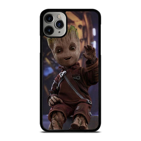 BABY GROOT CUTE GUARDIAN OF GALAXY-iphone-11-pro-max-case-cover