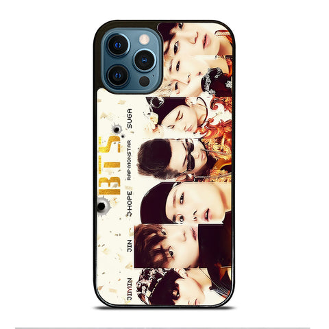 BANGTAN BOYS BTS iPhone 12 Pro Max Case Cover
