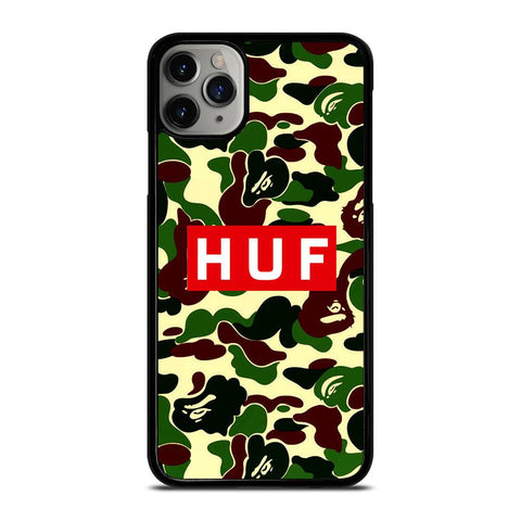 BAPE CAMO HUF-iphone-11-pro-max-case-cover