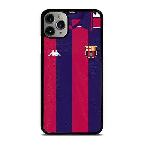 BARCELONA FC CLASSIC JERSEY KAPPA iPhone 11 Pro Max Case Cover