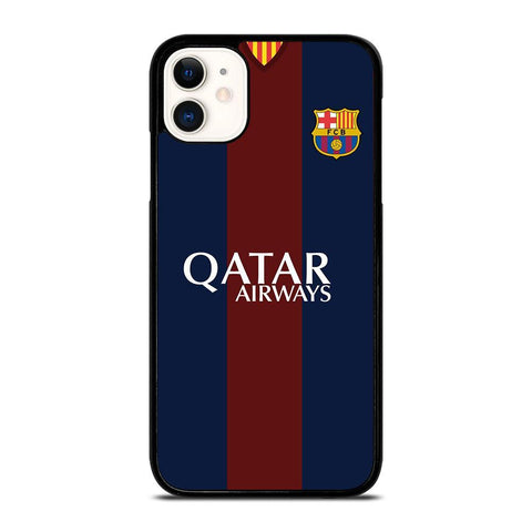 BARCELONA FC JERSEY LOGO-iphone-11-case-cover