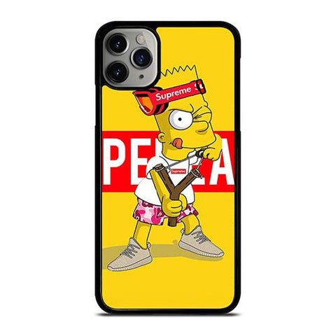 BART SIMPSON SUPREME HYPEBEAST iPhone 11 Pro Max Case Cover