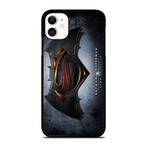 BATMAN VS SUPERMAN LOGO-iphone-11-case-cover