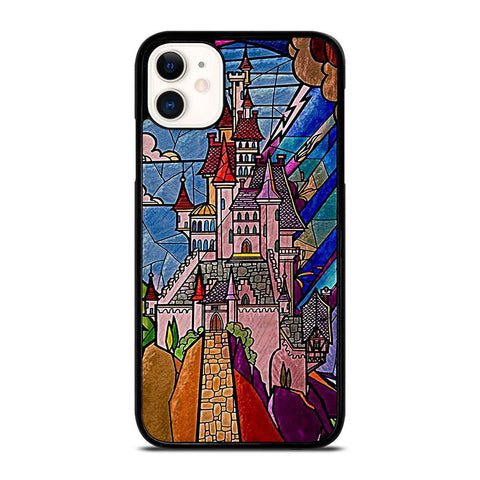 BEAUTY AND THE BEAST CASTLE DISNEY-iphone-11-case-cover