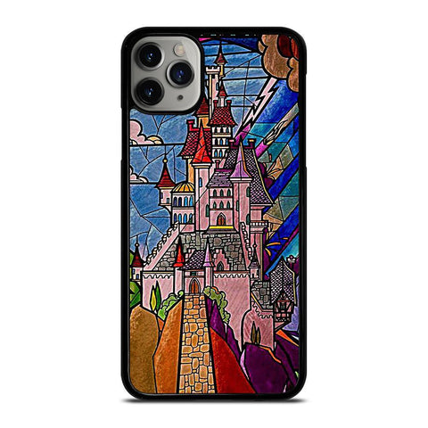 BEAUTY AND THE BEAST CASTLE DISNEY-iphone-11-pro-max-case-cover