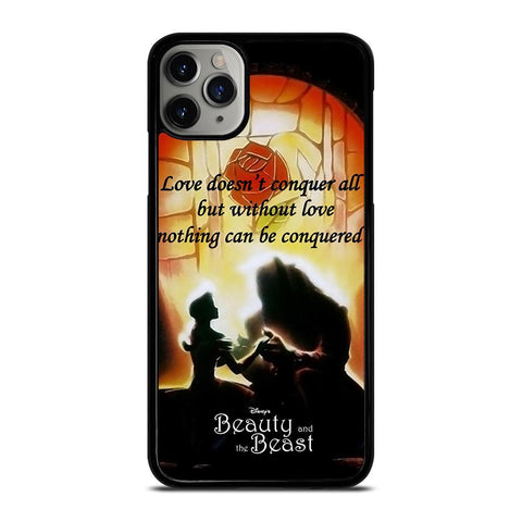 BEAUTY AND THE BEAST QUOTE-iphone-11-pro-max-case-cover