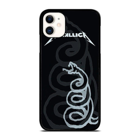 BLACK SNAKE METALLICA-iphone-11-case-cover
