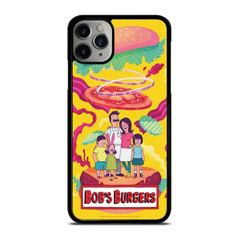 BOBS BURGERS FAMILY CARTOON-iphone-11-pro-max-case-cover