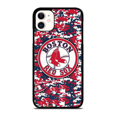 BOSTON RED SOX CAMO-iphone-11-case-cover