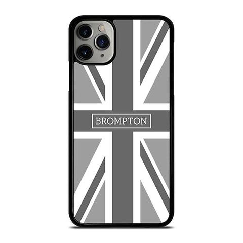 BROMPTON BIKE BRITISH BLACK WHITE iPhone 11 Pro Max Case Cover
