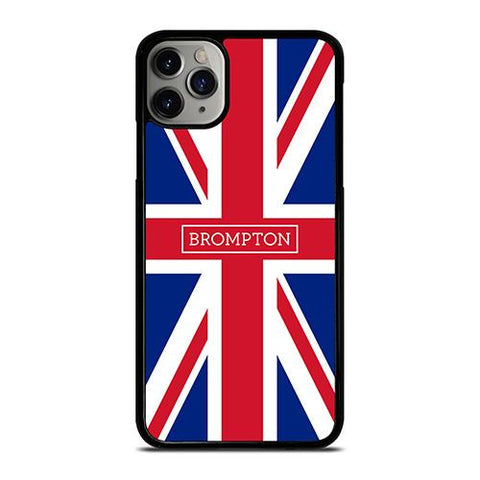 BROMPTON BIKE BRITISH FLAG iPhone 11 Pro Max Case Cover