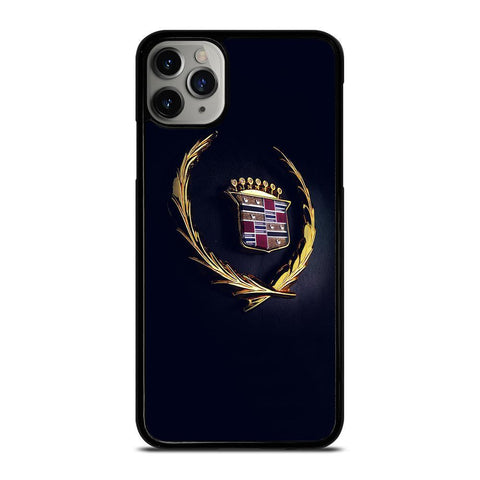 CADILLAC LOGO GOLD-iphone-11-pro-max-case-cover