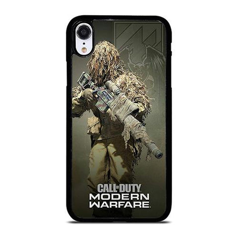 CALL OF DUTY MODERN WARFARE GAME iPhone XR Case Cover