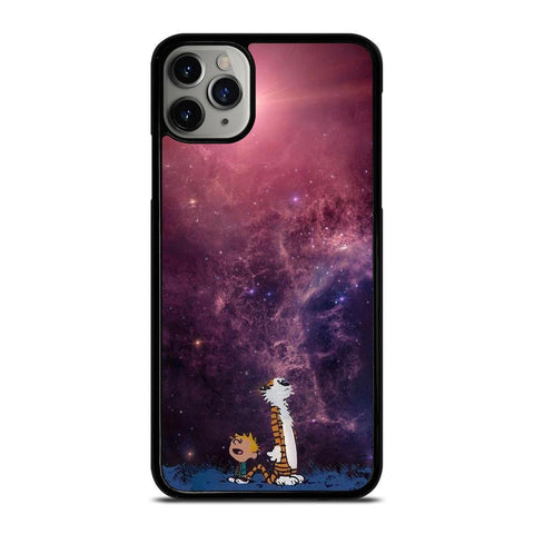 CALVIN AND HOBES NEBULA-iphone-11-pro-max-case-cover