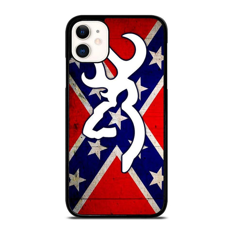 CAMO BROWNING FLAG-iphone-11-case-cover
