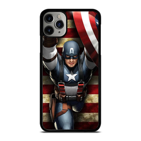 CAPTAIN AMERICA MARVEL-iphone-11-pro-max-case-cover