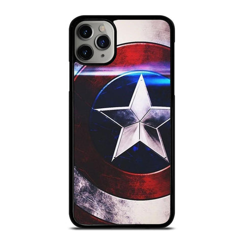 CAPTAIN AMERICA SHIELD MARVEL-iphone-11-pro-max-case-cover