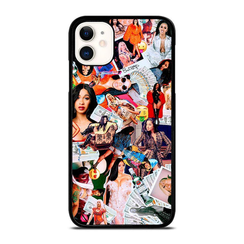 CARDI B COLLAGE-iphone-11-case-cover