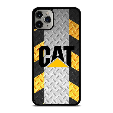CATERPILLAR CAT PLATE LOGO-iphone-11-pro-max-case-cover