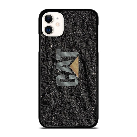 CAT CATERPILLAR LOGO-iphone-11-case-cover