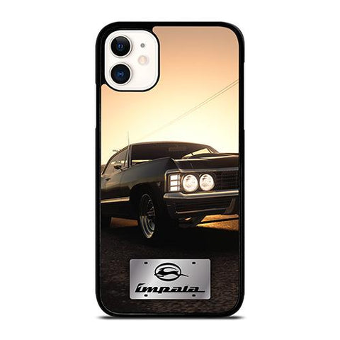 CHEVY CHEVROLET IMPALA METAL LOGO iPhone 11 Case Cover