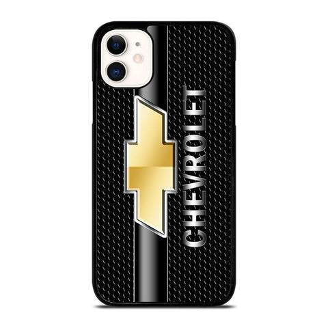 CHEVY CHEVROLET LOGO CARBON-iphone-11-case-cover