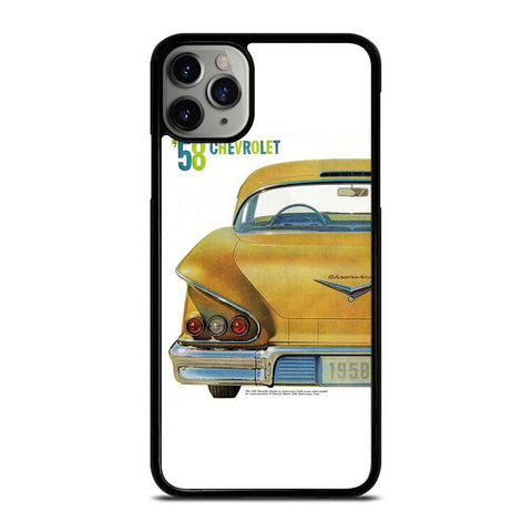 CHEVY CHEVROLET RETRO POSTER-iphone-11-pro-max-case-cover