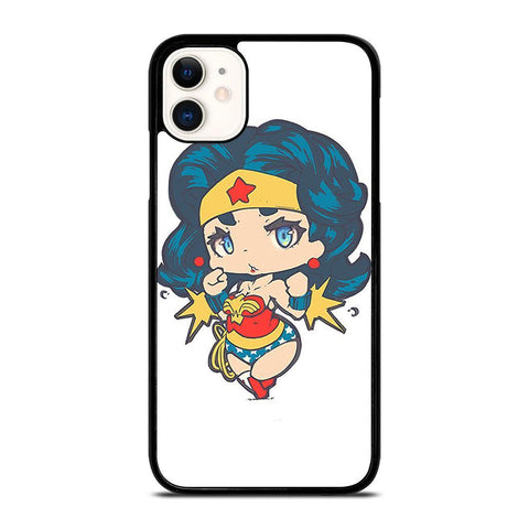 CHIBI WONDER WOMAN-iphone-11-case-cover