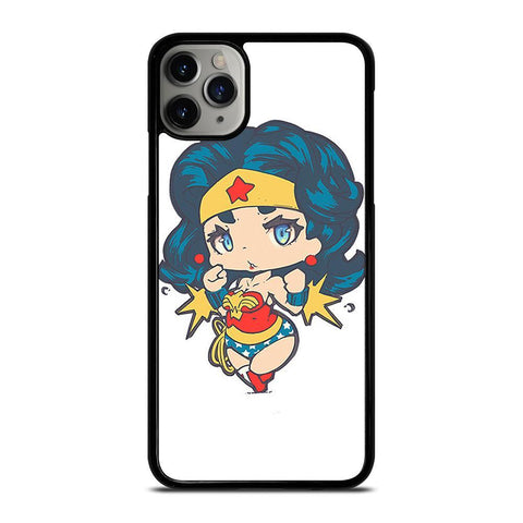 CHIBI WONDER WOMAN-iphone-11-pro-max-case-cover