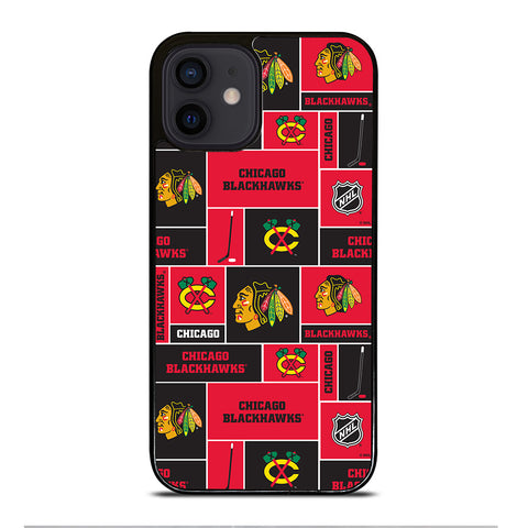 CHICAGO BLACKHAWKS HOCKEY iPhone 12 Mini Case Cover