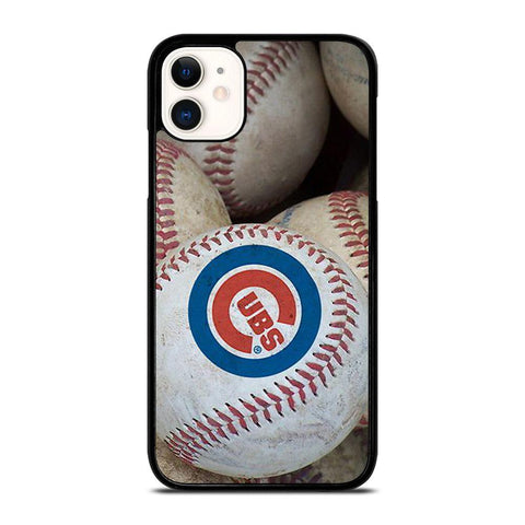CHICAGO CUBS BALL LOGO-iphone-11-case-cover