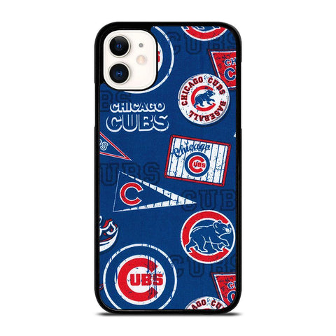 CHICAGO CUBS COLLAGE-iphone-11-case-cover